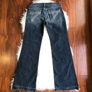 7 for all mankind DOJO Jeans Pastel Size 28